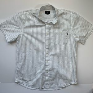 Men's XL OBEY Short Sleeve Button Down